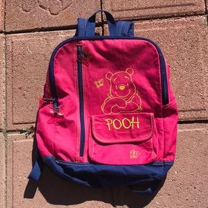 Y2K Winnie the Pooh Backpack